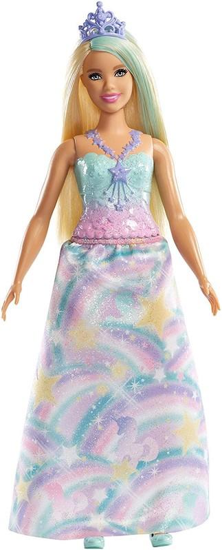 MATTEL - Barbie Čarovná princezná zelená FXT14