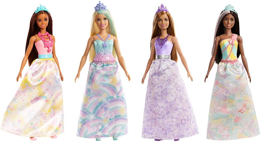 MATTEL - Barbie Kúzelná Princezná - Mix