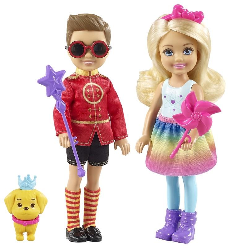 MATTEL - Barbie Kúzelný Set Chelsea A Otto