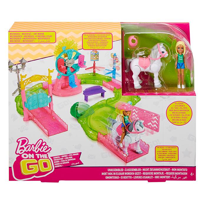 MATTEL - Barbie mini púť herný set