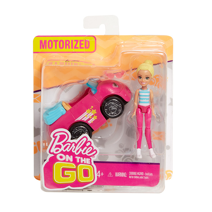 MATTEL - Barbie Mini Vozidlová Bábika - Mix