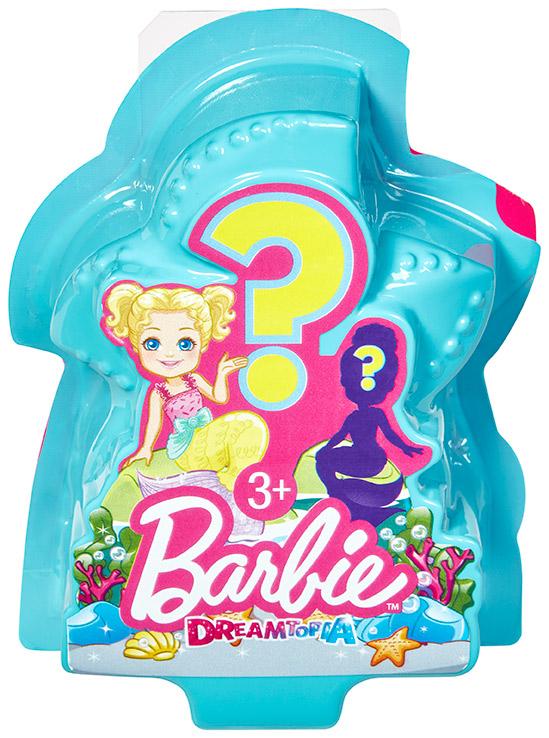 MATTEL - Barbie Morská Víla S Prekvapením , Mix Produktov