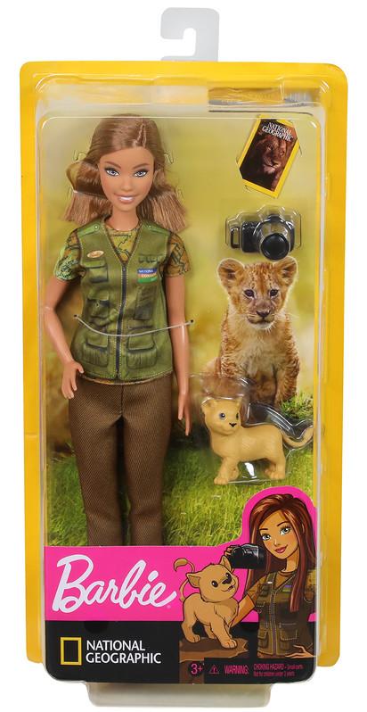 MATTEL - Barbie Povolania National Geographic Bábika , Mix Produktov