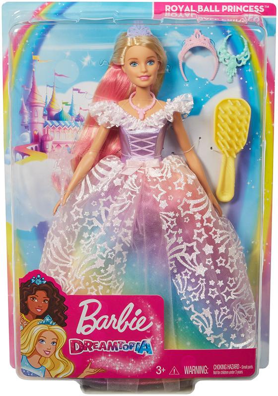 MATTEL - Barbie Princezná Na Kráľovskom Bále
