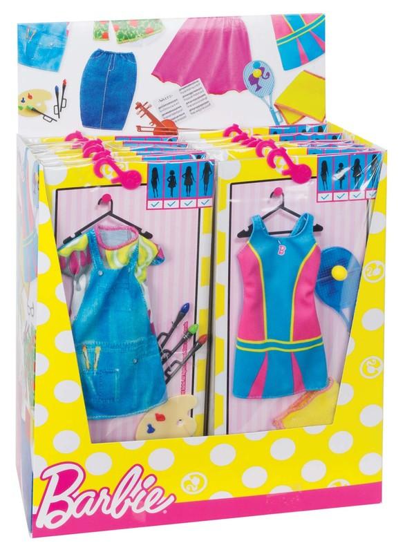 MATTEL - Barbie profesné oblečenie, mix produktov