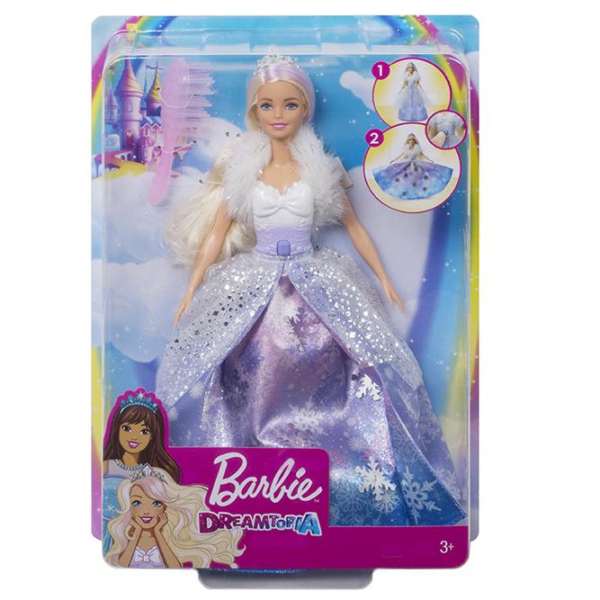 MATTEL - Barbie Snehová Princezná
