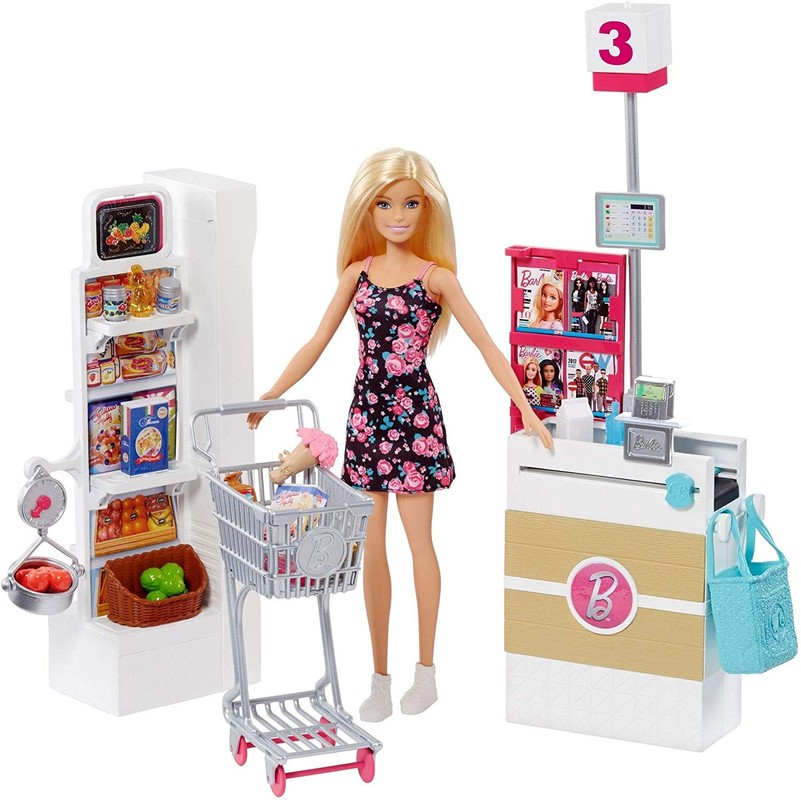MATTEL - Barbie Supermarket herný set FRP01