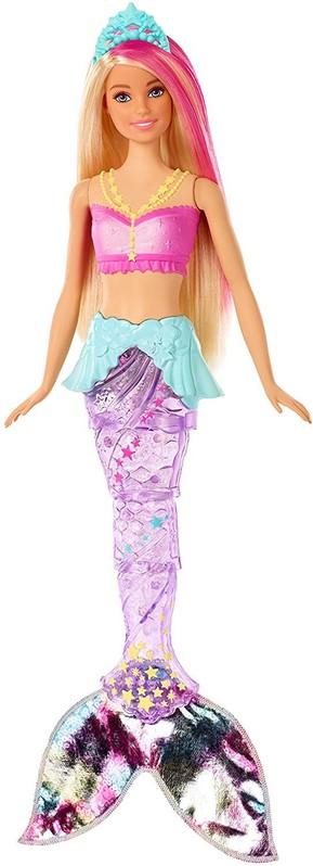 MATTEL - Barbie Svietiaca morská panna s pohyblivým chvostom GFL82