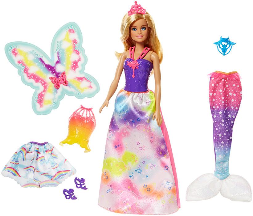 MATTEL - Barbie Víla A Rozprávkové Oblečenie