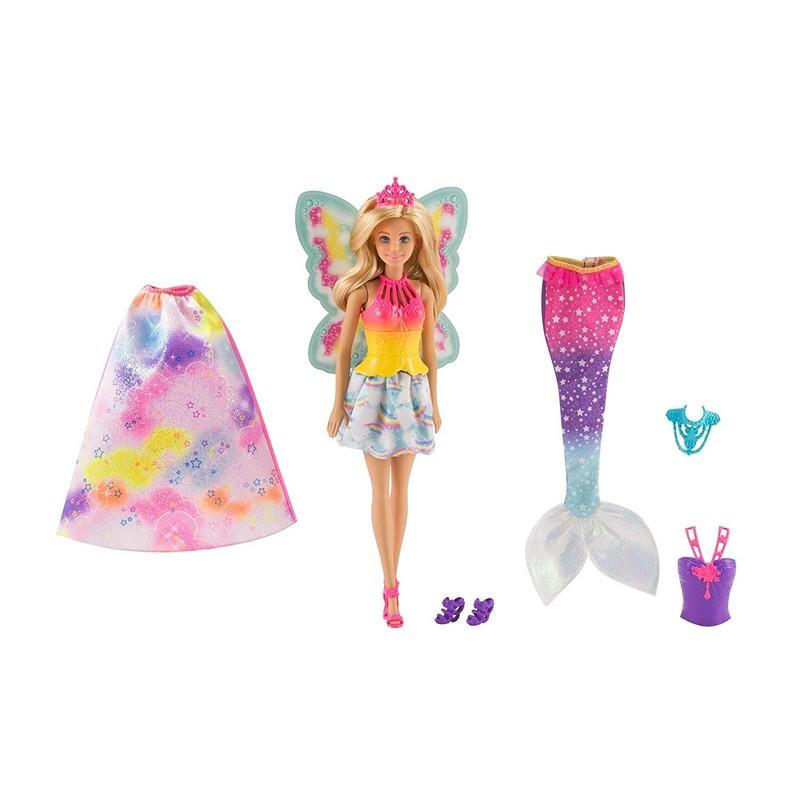MATTEL - Barbie víla a rozprávkové oblečenie FJD08