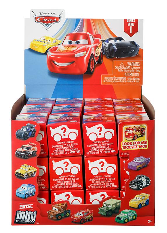 MATTEL - Cars 3 Mini Autá , Mix Produktov