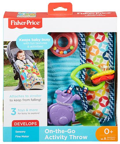 MATTEL - Fisher Price Aktívne Zariadenie Na Cestách