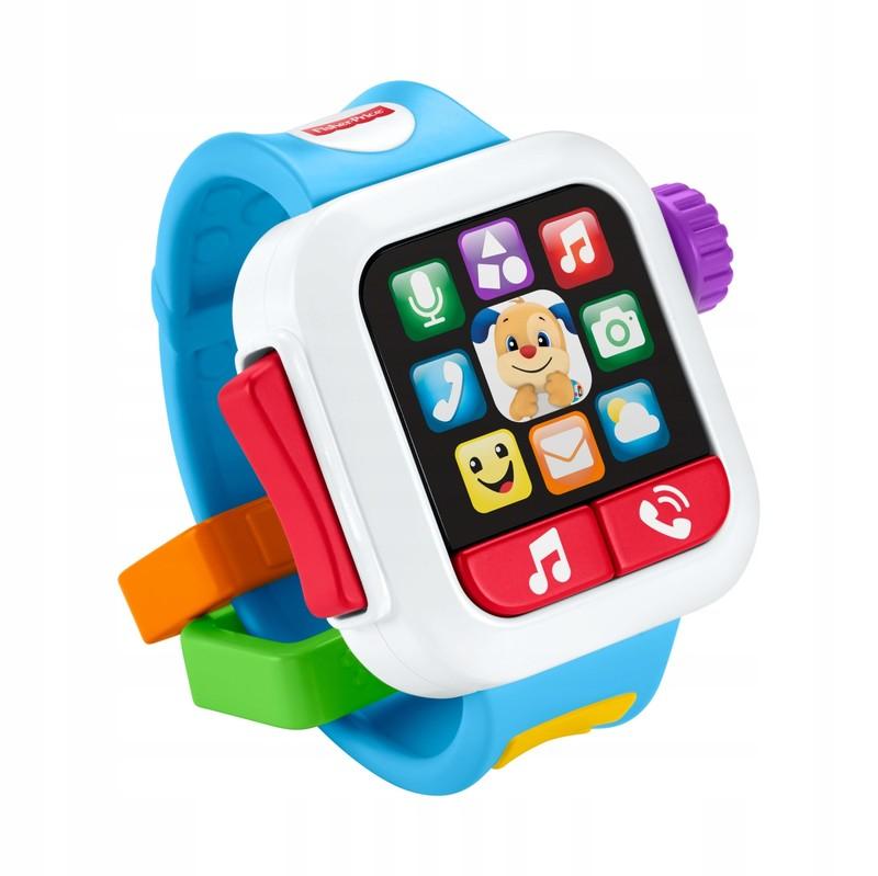 MATTEL - Fisher Price Chytré hodinky CZ