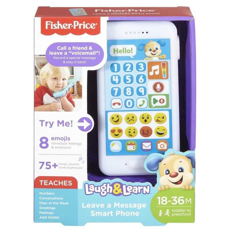 MATTEL - Fisher Price Emoji Smartphone slovenský