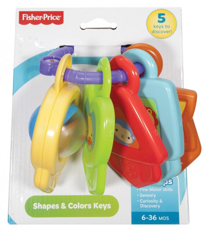 MATTEL - Fisher Price Farebné Kľúčiky