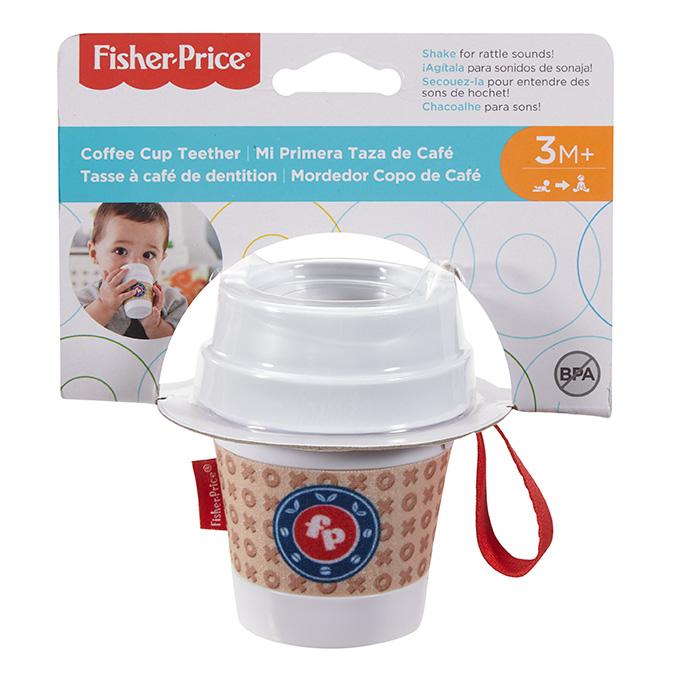 MATTEL - Fisher Price Hryzátko Pohárik Na Kávu