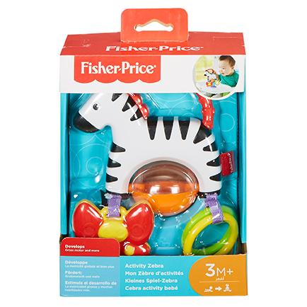 MATTEL - Fisher Price Zebra S Aktivitami