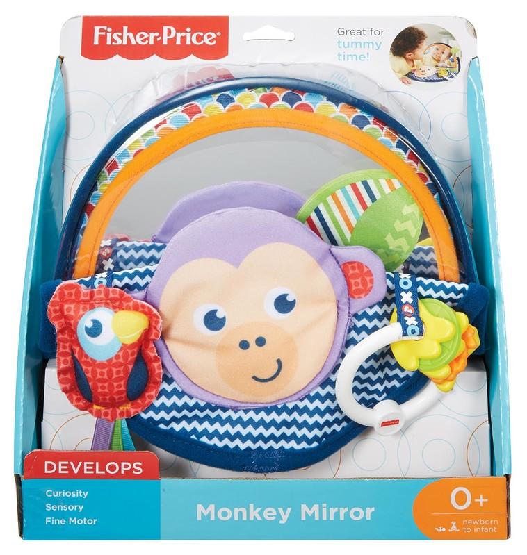 MATTEL - Fisher Price Zrkadlo Opička