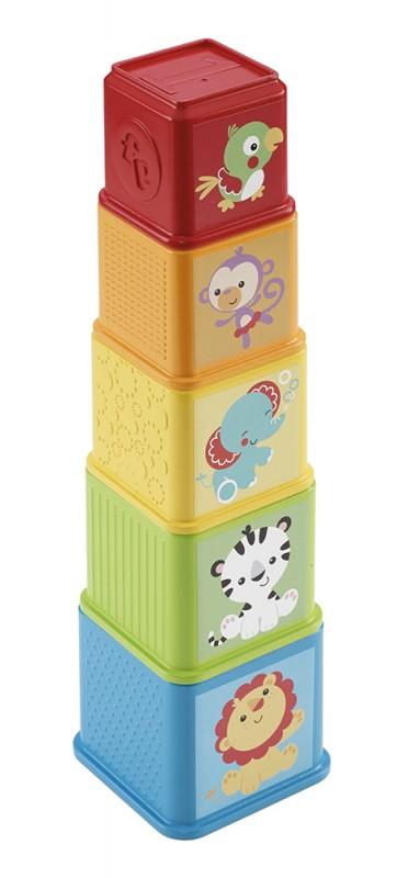 MATTEL - Fisher Price zvieratková veža
