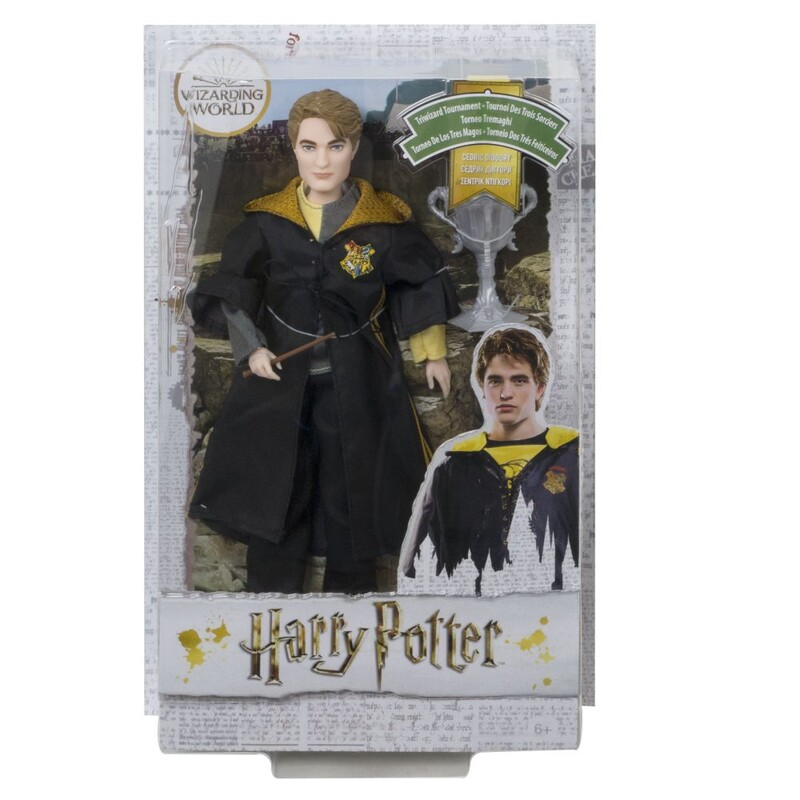 MATTEL - Harry Potter Trojčarodejnícky Pohár Cedric