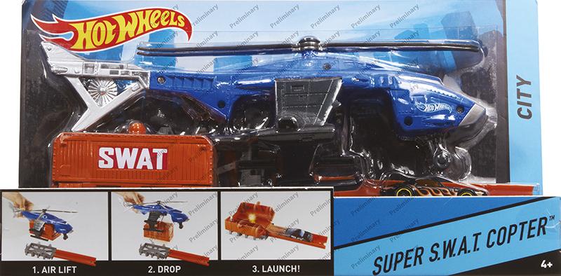 MATTEL - Hot Hot Wheelseels Super Akcia Mix