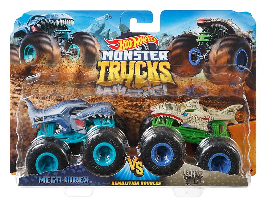 MATTEL - Hot Wheels Monster Trucks Demolačné Duo - Mix