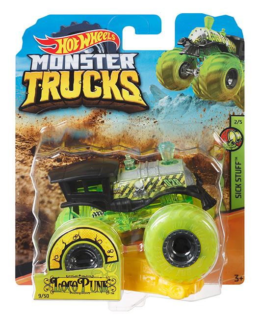 MATTEL - Hot Wheels Monster Trucks Kaskadérske Kúsky - Mix