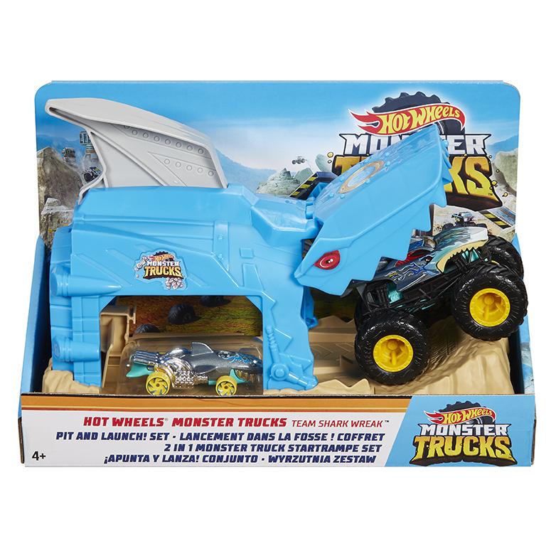 MATTEL - Hot Wheels Monster Trucks Pretekársky Herný Set, Mix Produktov