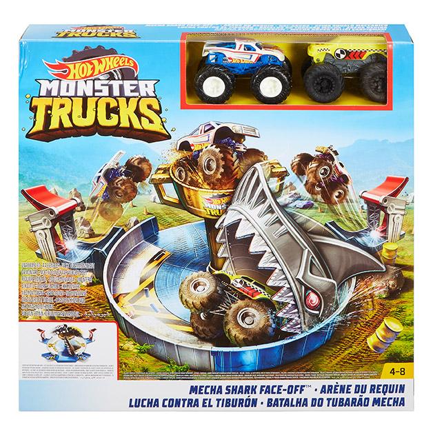 MATTEL - Hot Wheels Monster Trucks Žraločí Útok