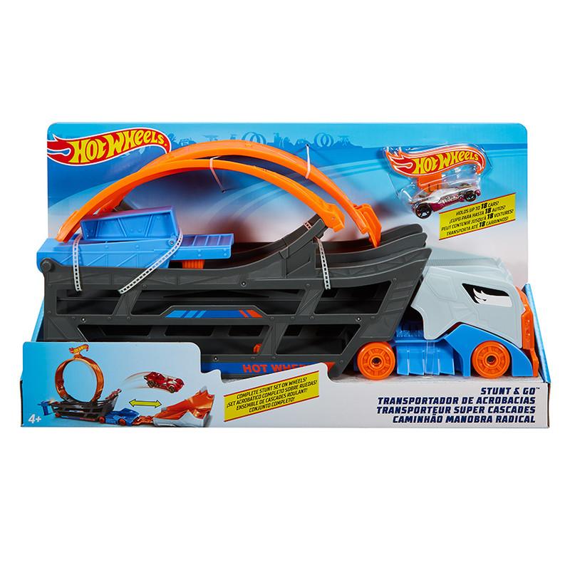 MATTEL - Hot Wheels ťahač a pojazdná dráha