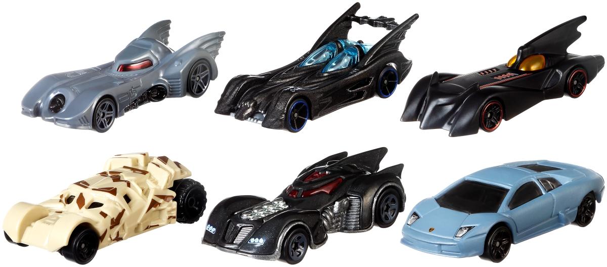 MATTEL - Hot Wheels Tematické Auto - Batman Asst