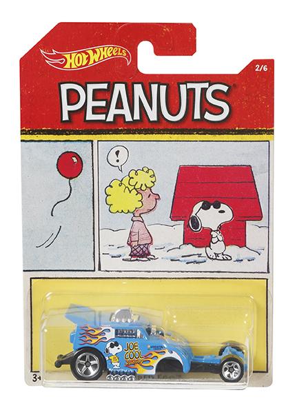 MATTEL - Hot Wheels Tematické Auto - Peanuts