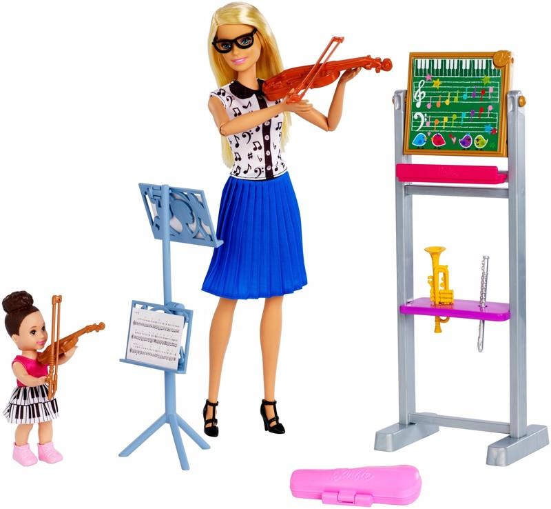 MATTEL - Hudobná Barbie GHT52