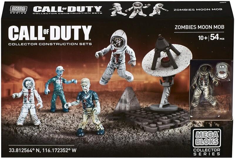 MATTEL - MEGA BLOKS Call of Duty Zombies Moon mob