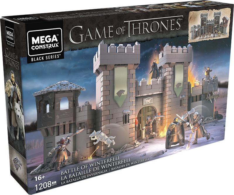 MATTEL - Mega Bloks Hra O Tróny Zimohrad