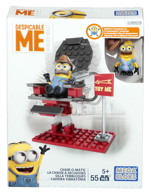 MATTEL - Mega Bloks Mimoni Malý Set Asst