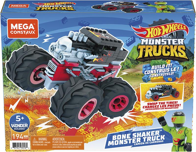 MATTEL - Mega Construx Monster Trucks, Mix Produktov