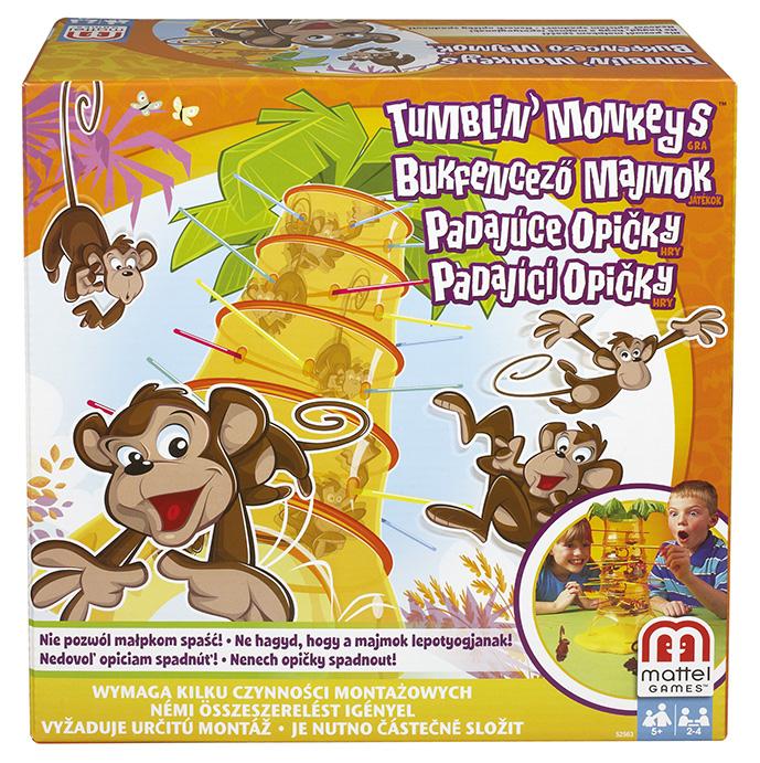 MATTEL - Padajúce Opičky