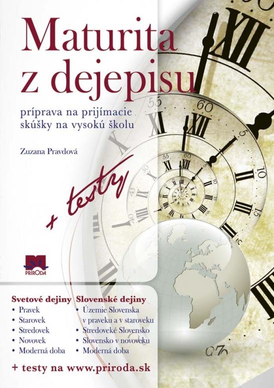 Maturita z dejepisu + testy - Zuzana Pravdová