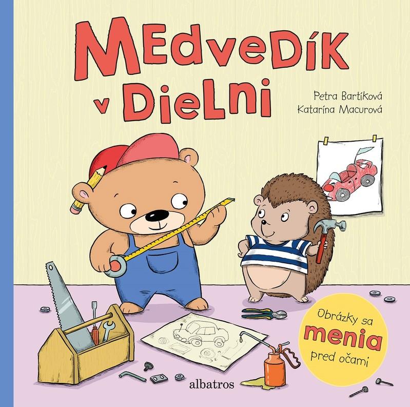 Medvedík v dielni - Petra Bartíková