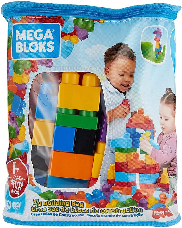 MEGA BLOKS - First Builders Big Building Bag Boys (60)