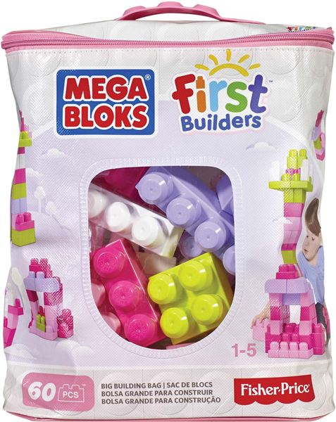 MEGA BLOKS - First Builders Building Bag Girls (60)