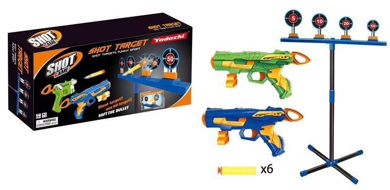 MEGA CREATIVE - Pištoľ na náboje + doplnky