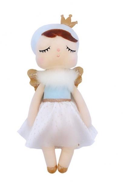 METOO - Handrová bábika Anjelik s korunkou