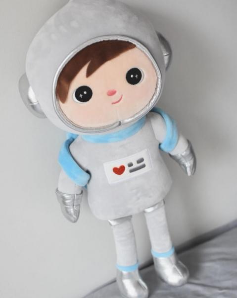 METOO - Handrová bábika Kosmonaut - sivá