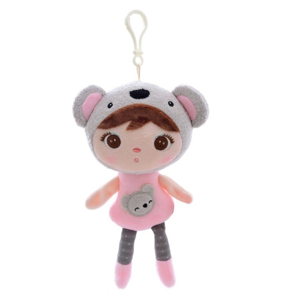 METOO - Mini handrová bábika Metoo s klipom medvedík Koala, 22 cm