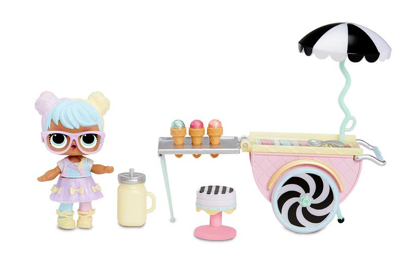 MGA - L.O.L. Nábytok s bábikou, Mix Produktov, PDQ, vlna 1