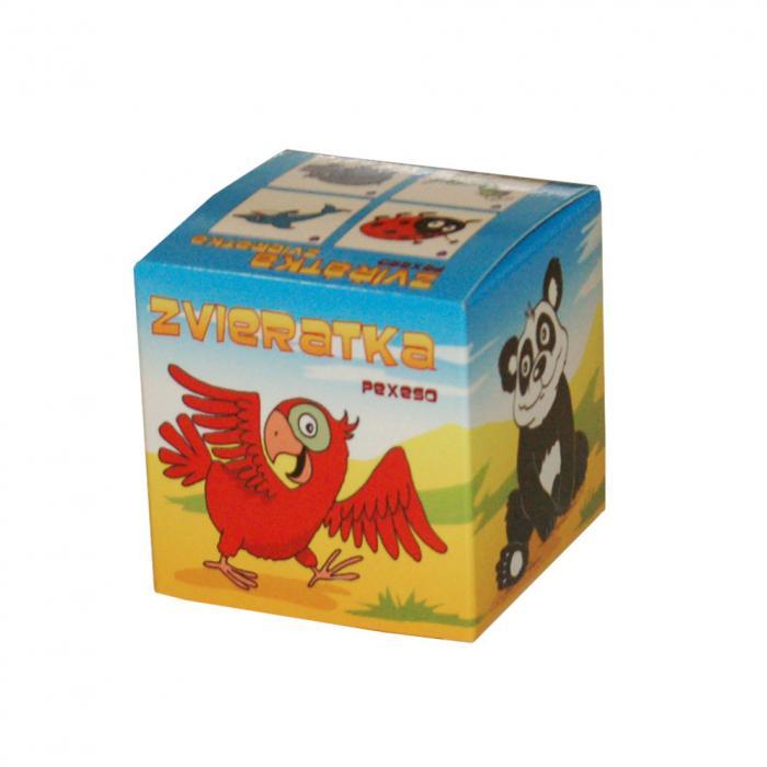 MIČÁNEK - Pexeso v krabičke Zvieratká