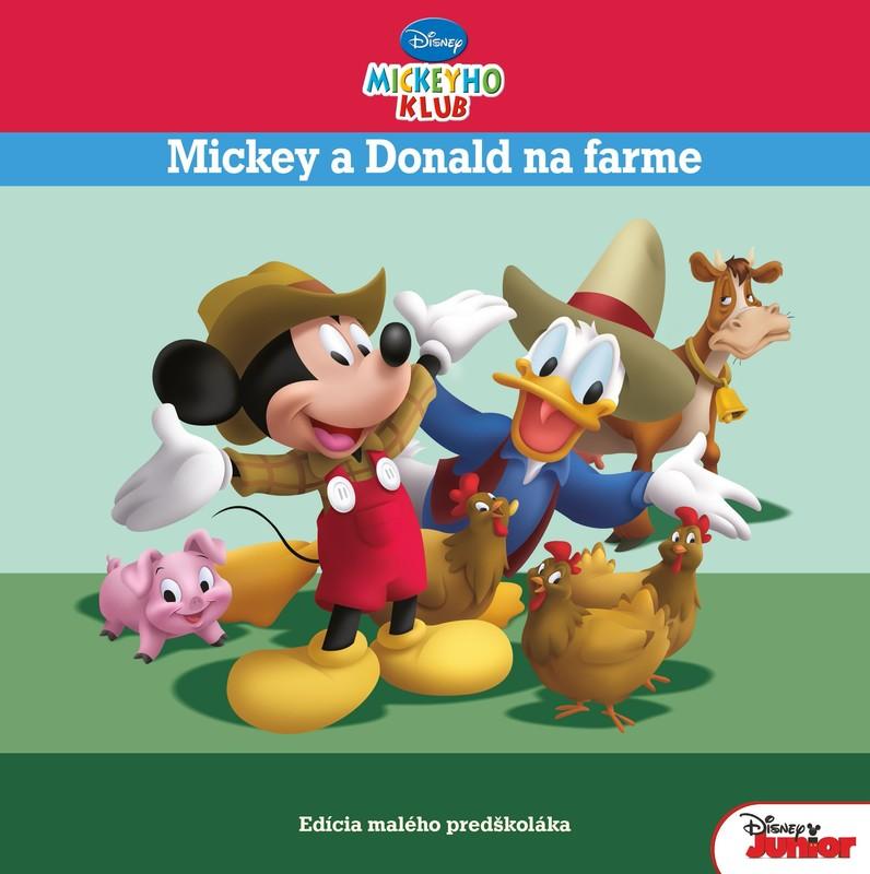 Mickeyho klub - Mickey a Donald na farme - Edícia malého predškoláka - Walt Disney