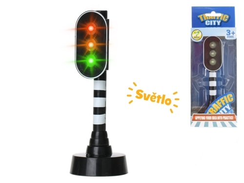 MIKRO TRADING - Semafor so svetlom 15cm